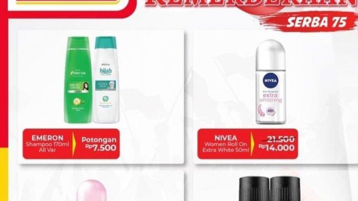Promo Alfamart Hari Ini 18 Agustus 2020, Serba 17, 45 & 75 Untuk Perlengkapan Mandi hingga Deterjen