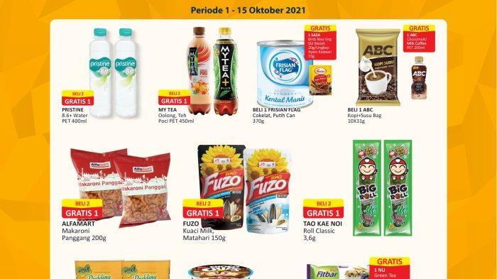 Promo Alfamart 5 Oktober 2021, Makaroni Panggang Beli 2 Gratis 1, Promo Hemat Diskon hingga 50%