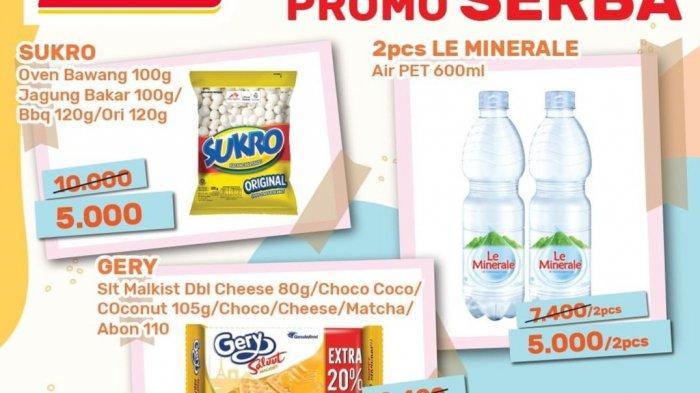 HARI TERAKHIR, Promo Alfamart 31 Juli 2021, Diskon Susu Bebelac & Morinaga, Cemilan Serba Rp5.000