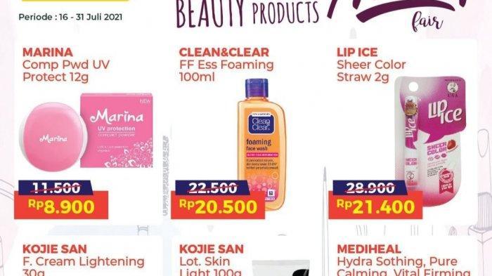 Promo Alfamart TERBARU 25-31 Juli 2021 Diskon BESAR, Kosmetik Murah, Nextar 5.000, Gratis Mi Instan