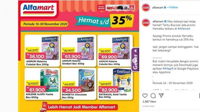 Promo Alfamart Hingga 26 November 2020 Minyak Goreng 2 Liter Rp 24 900 Beras Sania Rp 58 500 Tribun Bali
