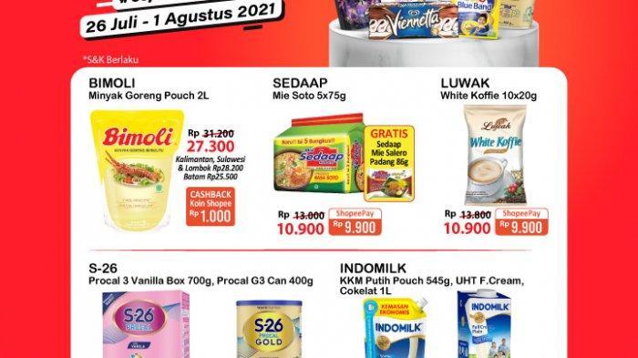 Promo Alfamart 29 Juli 2021 BANJIR DISKON, Kosmetik Murah, Minyak Bimoli 2L Rp27.300, Nextar Rp5.400