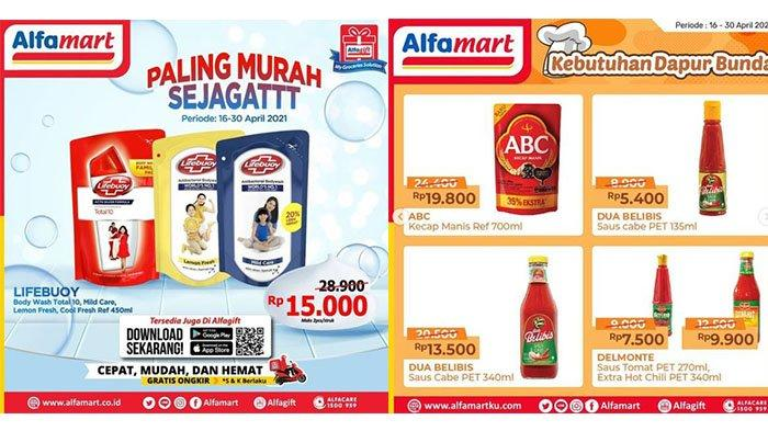 PROMO ALFAMART 30 April 2021: Harga Spesial Kebutuhan Dapur, Sabun Cair Lifebuoy Kini Cuma Rp15.000