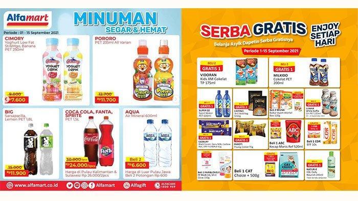 PROMO Alfamart 7 - 8 September 2021: Cimory Yogurt Rp7.600, Cokelat Cadbury Dairy Milk Beli2 Gratis1