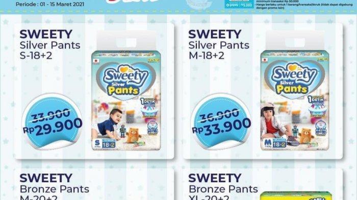 Promo Alfamart Senin 15 Maret 2021, Produk Serba Rp5.000an, Diskon Diapers, Biskuit, Kebutuhan Dapur