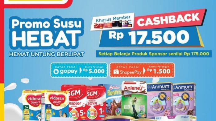 Promo Alfamart Selasa 23 Maret 2021, Promo Beras Murah, Beli Susu Cashback Rp17.500