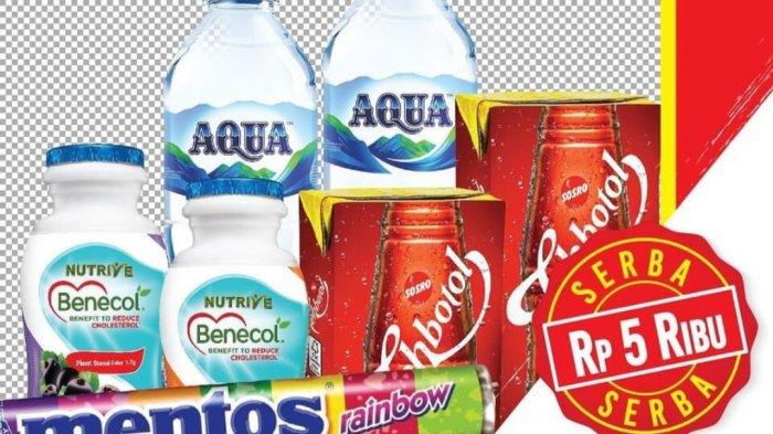 Promo Alfamart Besok 3 Maret 2021, Produk Serba Rp5.000 & Rp10.000, Diskon Susu dan Cokelat.