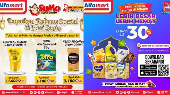 Promo Alfamart Besok 5 Mei 2021, Hari Terakhir Tukar Voucher dan Belanja Minyak Goreng Cuma Rp11.000