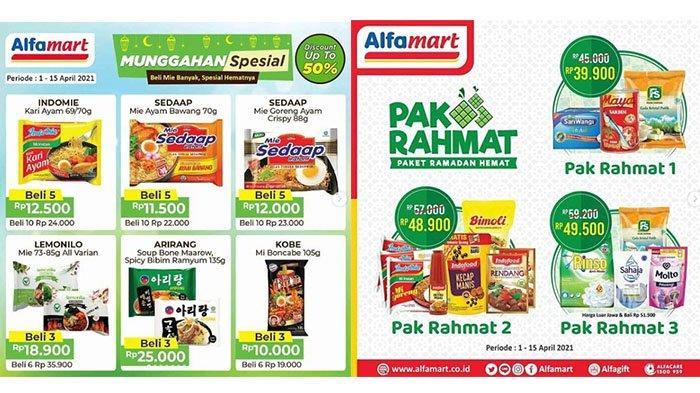 PROMO Alfamart Hari Ini 15 April 2021 Munggahan Spesial Ramadhan DISKON 50%, SGM Eksplor Lebih Murah