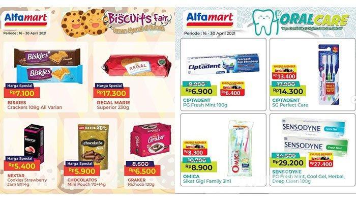 PROMO Alfamart Hari Ini 29 April 2021: Pasta Gigi Diskon, 5 Indomie Rp11.500, Biskuit Regal Rp17.300