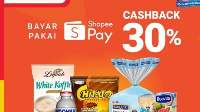 Promo Alfamart 19 Maret 2021, Diskon Susu, Snack, Minyak Kayu Putih, Cashback 30%, Teh Javana Rp1500