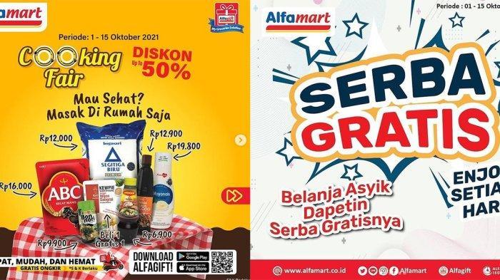 KATALOG PROMO Alfamart 7 Oktober 2021, Serba Gratis Hingga Cooking Fair Diskon Up to 50%