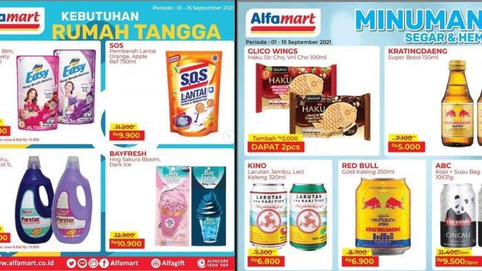 Promo Alfamart 7 September 2021, Beli Cetaphil Gratis Beras 5 Kg, Easy Rp13.900, Kratingdeng Rp5.000