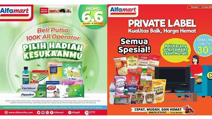 PROMO Alfamart Hari Ini 6 Juni 2021, Awas Kehabisan! Beli Pulsa Gratis Rinso, 5 Mie Sedaap Rp8.900