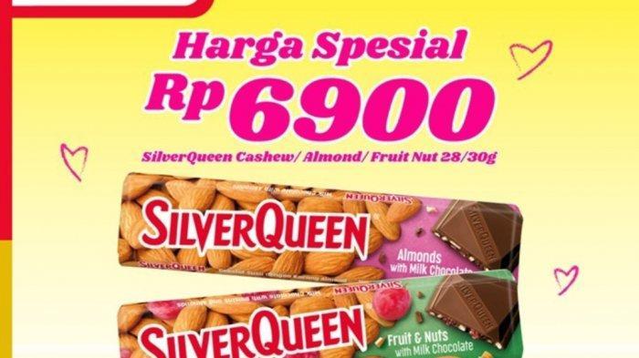 Promo Alfamart Hari Ini 8 Maret 2021, Cokelat Silverqueen Hanya Rp6.900, Diskon Susu, Sabun, Cemilan