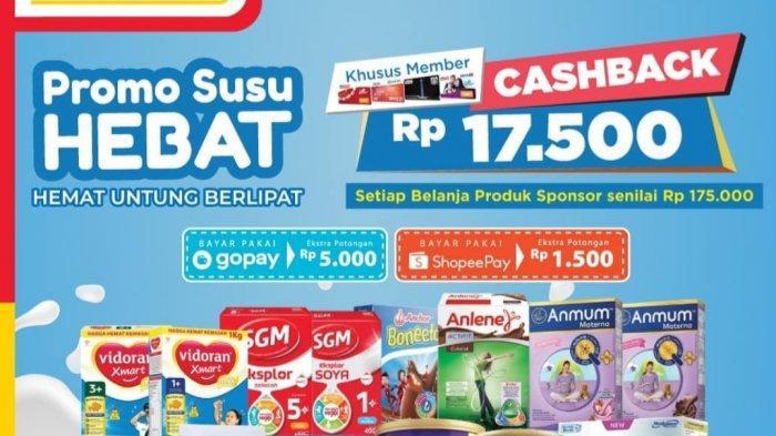 Promo Alfamart 18 Maret 2021, Promo Susu Hebat hingga Hajatan Gopay, Banyak Diskon & Cashback