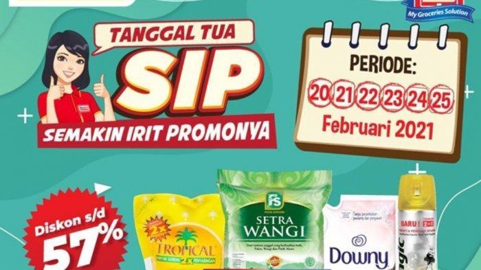 Promo Alfamart Besok 25 Februari 2021, Diskon Diapers, Deterjen, Beras, Mi Instan dan Minyak Goreng