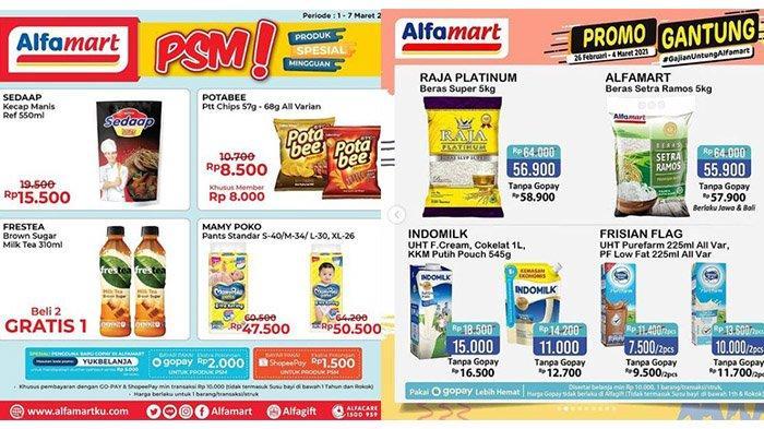 Promo Alfamart Hari Ini Kamis 4 Maret 2021: Beras Rp55.900, Diskon Wardah, Mamy Poko Lebih Hemat