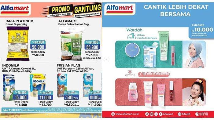 Promo Alfamart Hari Ini Selasa 2 Maret 2021 Beras 5Kg Rp55.900, Potongan Harga Produk Wardah & Emina