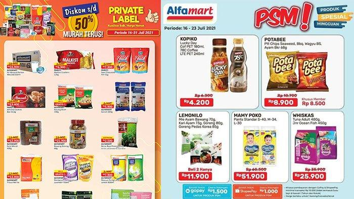Promo Alfamart Hari Ini 22 Juli 2021, Promo Serba Rp5 Ribu, Diskon Bebelac, Private Label Diskon 50%