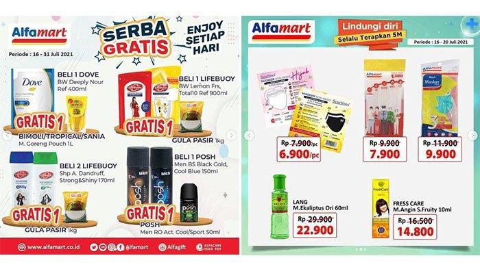 MASIH BERLANGSUNG PROMO Alfamart 19 Juli 2021: Lifebuoy Gratis 1Kg Gula Pasir, Daia 850g Rp15 Ribuan