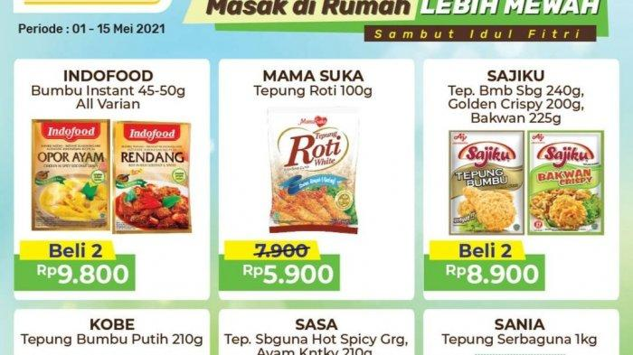 Promo Alfamart Idul Fitri Diskon Aneka Bumbu Masak, Paket Lebaran 29.900, BERAS MURAH & Sirup Gratis
