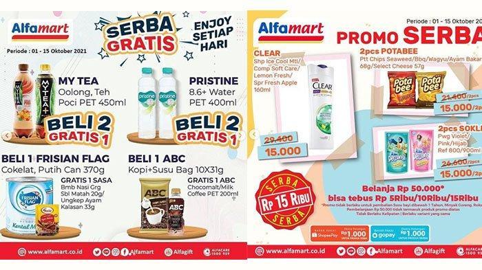 PROMO Alfamart Rabu 6 Oktober 2021: Clear Shampoo Rp15 Ribu, Beli 2 Ichitan Thai Milk Tea Rp12.900