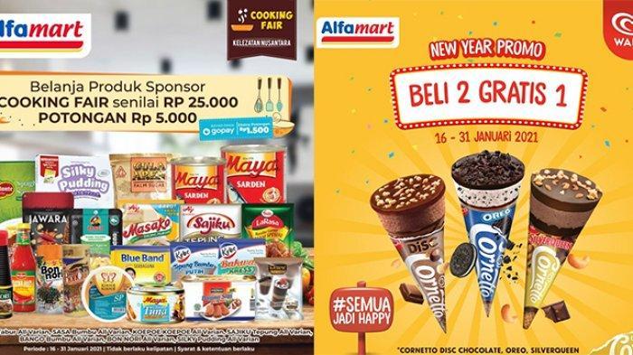 Promo Alfamart Hari Ini 20 Januari 2021 Es Krim Dan Camilan Beli 2 Gratis 1 Diskon Diapers Tribun Bali