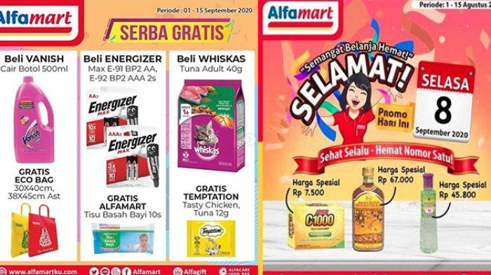Katalog Promo Alfamart 8 September 2020, Ada Promo Selamat, Serba Gratis hingga Promo Hematku