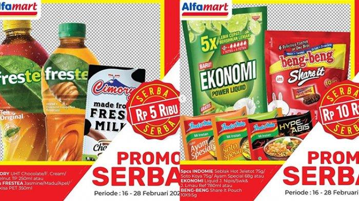 Promo Alfamart 20 Februari 2021, Diskon Beras & Mi Instan, Gratis Minya Goreng, Produk Serba Rp5.000