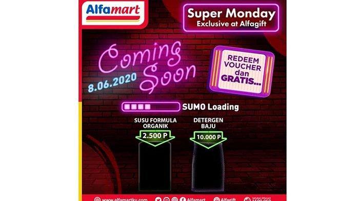 Promo Alfamart Super Monday diAlfagift8 Juni 2020, Masih Banyak Promo Lainnya Hingga 15 Juni 2020