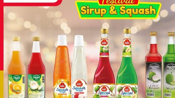 PROMO Alfamart Terbaru 13-15 April 2021, SIRUP MURAH, Minuman Beli 2 Gratis 1, Diskon Diapers 27%