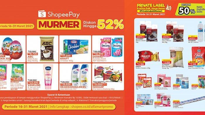 Promo Alfamart TERBARU 16-31 Maret 2021, Mie Instan Beli 5 Cuma Rp9.000, Beras 5kg Diskon 50%