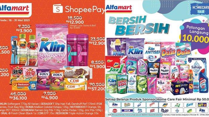 Promo Alfamart TERBARU 17-31 Mei 2021, Kopi, Snack, Susu Diskon 58%, Detergen Potongan Rp10.000