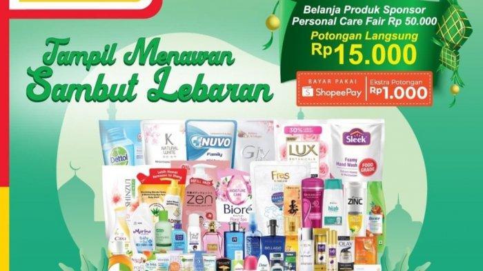 Promo Alfamart Terbaru 2-15 Mei 2021, Belanja 50.000 Cashback 15.000, Paket Sembako & Biskuit Murah