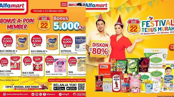 Promo Alfamart 7 Oktober 2021, Beras Murah Mulai Rp55.900, Tebus Murah Diskon hingga 80 Persen