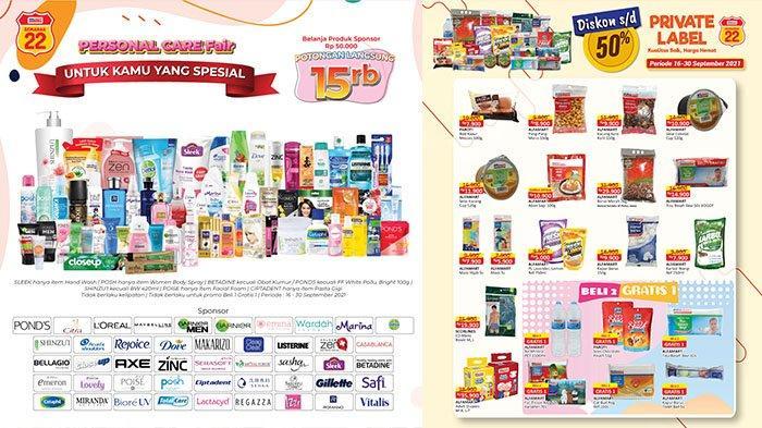 PROMO Alfamart TERBARU 20-26 September 2021: Potongan hingga Rp15Ribu, Minyak Goreng Gratisan