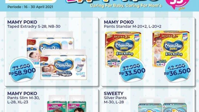 Promo Alfamart Terbaru 22-30 April 2021, Diskon Diapers 33%, Indomie 3 pcs Rp7.000, Sirup Gratisan