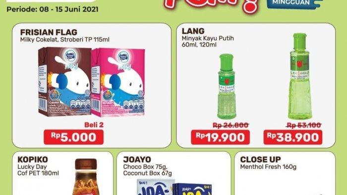 Promo Alfamart Terbaru 8-15 Juni 2021 BANJIR DISKON, Minyak Kayu Putih 19.900, Sampo Clear 15.000