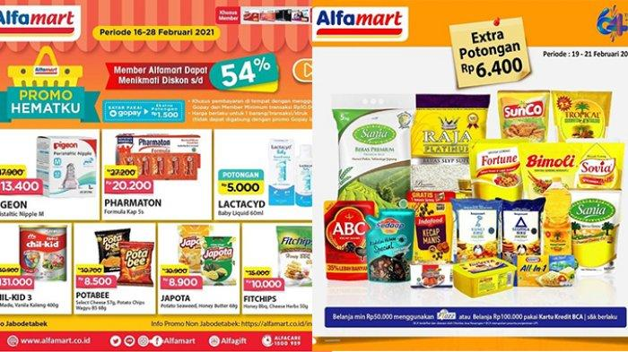 Promo Alfamart TERBARU Hari Ini 21 Februari 2021, Snack dan Susu Diskon 54%, Teh Beli 2 Gratis 1