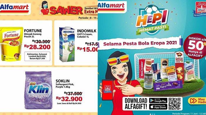 Promo Alfamart Tinggal Dua Hari 14-15 Juni 2021, Minyak Goreng 2L Rp27.300, HEPI Snack Diskon 50%