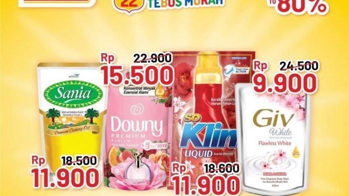 PROMO ALFAMART 19 September 2021 GRATIS Taro, Pulpy Orange & Sari Kacang Hijau, Minyak Goreng 11.900