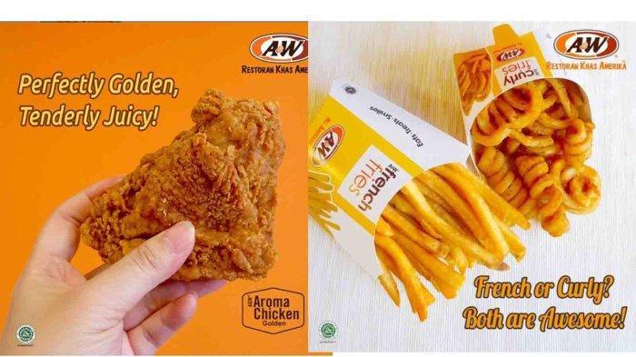 JANGAN LEWATKAN, PROMO A&W Hari Ini 26 September 2021, Nikmati Weekend Golden Aroma Chicken