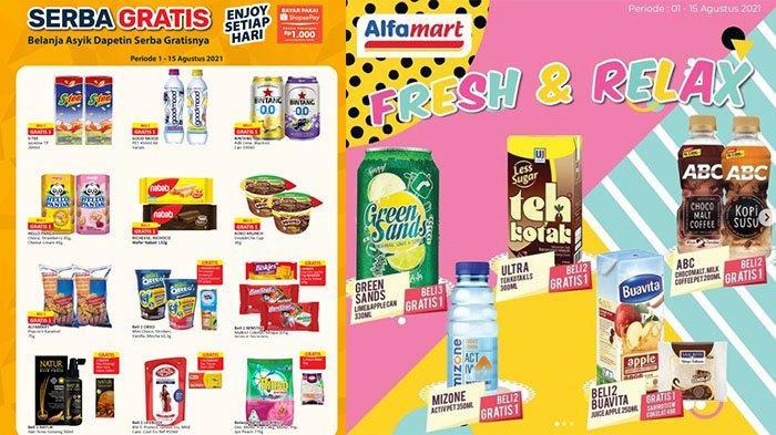 PROMO BARU Alfamart 2 - 7 Agustus 2021: Good Time Biskuit Rp4.900, Beli 2 Buavita Gratis Sari Roti