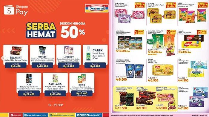 Promo Indomaret 20 September 2021, Super Hemat Diskon hingga 50%, Beli Ponds Gratis Minyak Goreng