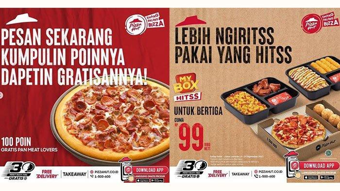 PROMO BARU Pizza Hut 16 September 2021: Pan Meat Lovers Gratisan, Makan Bareng 3 Orang Rp99 Ribuan