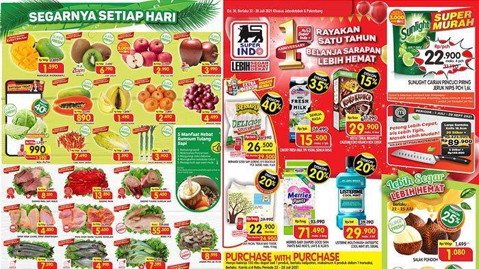 PROMO BARU Superindo Hari Ini 22 Juli 2021: Cimory Fresh Milk 950ml Rp15.500, Bawang Merah Rp4.490