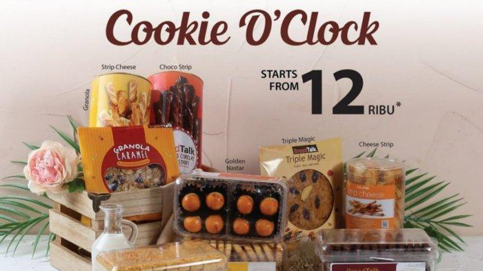 PROMO BREADTALK Senin 21 Juni 2021, Cookie O'Clock Mulai dari Harga Rp 12 Ribuan Saja