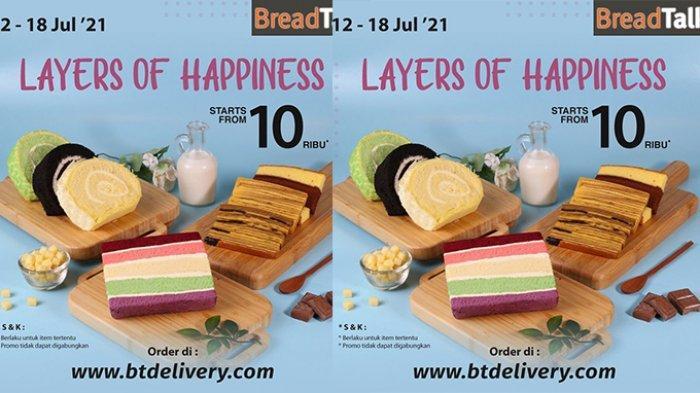 PROMO Breadtalk Terbaru 16 Juli 2021, Berbagai Kue Manis Mulai Rp 10 Ribuan