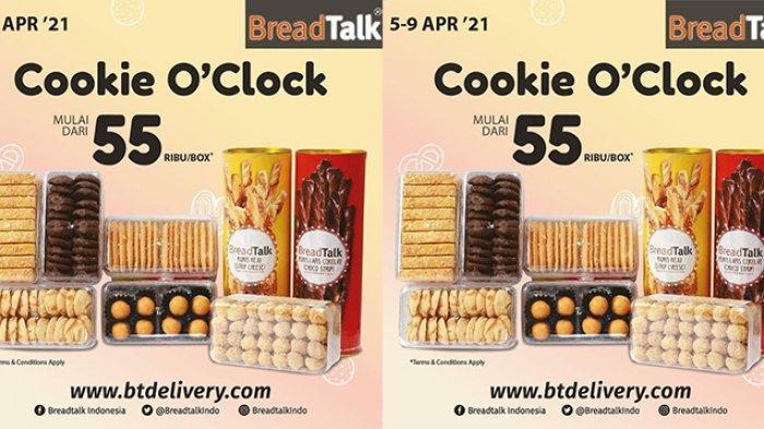 Promo Breadtalk TERBARU 6-9 April 2021, Aneka Cookies Rp55.000 Per Boks